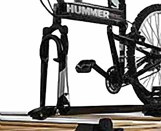 2009 Hummer H2 SUT Bicycle Carrier (Fork Mounted) 89006890