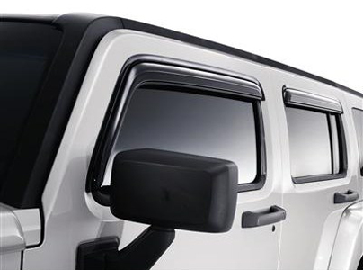 2009 Hummer H3 Side Window Weather Deflector #19158479